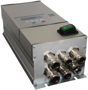 Frequenzumrichter VECTOR Wärmetauscher (WT) für Rotationswärmetauscher