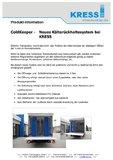 [PDF] Pressemitteilung :   ColdKeeper - Neues Kälterückhaltesystem bei KRESS