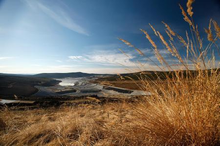 Blick auf die Fort Knox-Mine; Foto: Kinross Gold