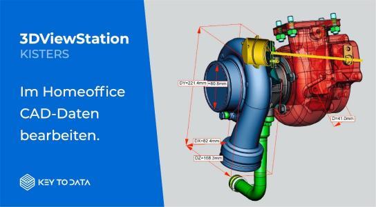 3DViewStation-3D-Homeoffice-CAD Viewer