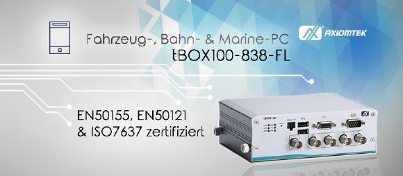 DIe neue tBOX100-838-FL!
