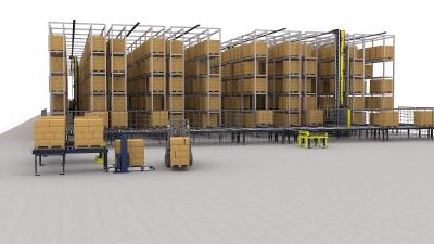 Automating Pallet Racks at a Later Point - SSI Exyz C Makes it Possible