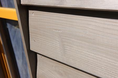 Das Holz lebt auf durch die leichte GreyWood-Beschichtung, die mehr ist als eine normale Lasur.  Fotos: Caparol Farben Lacke Bautenschutz/Andreas Wiese