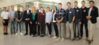 Die Deutschlandstipendiaten der Hochschule Aalen trafen sich mit ihren Stiftern aus der Wirtschaft zu einem gemeinsamen Club-Event (© Hochschule Aalen/ Janine Soika)