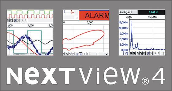NextView® makes measuring data acquisition *simply* possible
