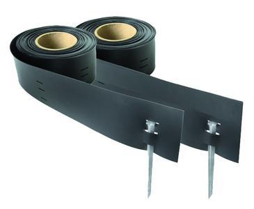 OBS bietet das System GreenLiner - abgestimmt auf die unterschiedlichen Einsatzmöglichkeiten und die damit verbundenen Anforderungen - in den Materialien Stahl/Cortenstahl, verzinktem Stahlblech, Polyethylen (PE) und PVC an