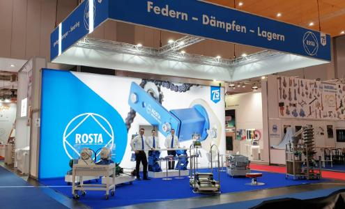 ROSTA presents itself in a new look at the Hanover Fair 2019