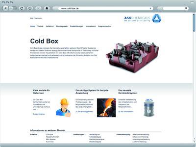 Screen www.cold-box.de