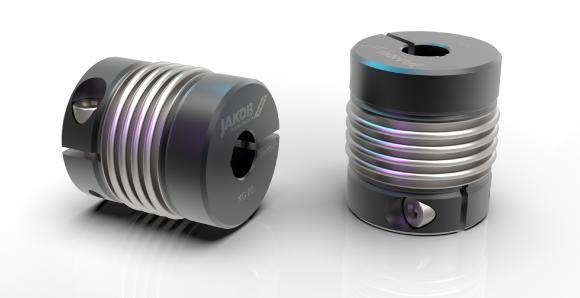 Miniaturkupplung MKG 2020 brüniert