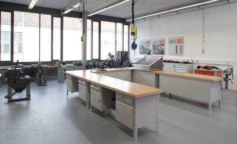 FEIN Demo- und Praxisschulungsraum Metall