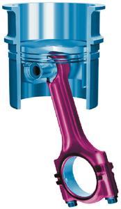 """Die VDI-Tagung """"Zylinderlaufbahn, Kolben, Pleuel"""" zeigt, wie sich innermotorischer Reibung reduzieren lässt (Bild: VDI Wissensforum)"""