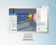 hyperMILL® VIRTUAL Machining: der Optimizer analysiert komplette Bearbeitungsfolgen und berücksichtigt Achsenlimitationen / Quelle: OPEN MIND