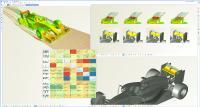 Auswertung einer automatisierten Studie zur Heckspoiler-Optimierung