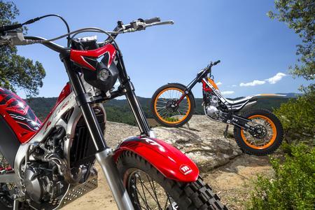 Die Honda Trial Motorräder für 2015