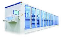Solarzellentexturierung in der BatchTex XL Maschine