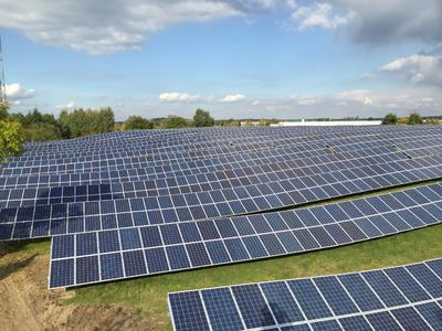 Former landfill site in Nuthe-Urstromthal turned into 1.6 MW solar park by  Ka-Energy Solutions GmbH