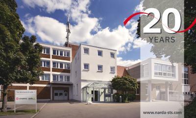 Immagine 1: La sede aziendale di Narda a Pfullingen nel Baden-Württemberg