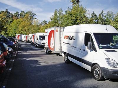 Zum Start in die Heizsaison stehen bei Hotmobil weitere 35 mobile Energiezentralen im Mietpark zur Verfügung / Bildquelle: Hotmobil Deutschland GmbH