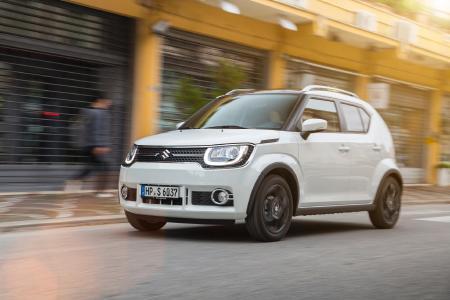 Der neue Suzuki Ignis - front 3 4 dynamic impressionist urban