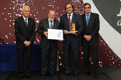 Mit dem Qualitätspreis zeichnete der regionale Arbeitgeberverband ADEG das Brose Werk in Sta. Margarida/Spanien aus