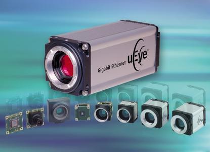 Gigabit Ethernet uEye® Camera-Bild