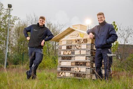 Stadtwerke Witten eröffnen erstes Insektenhotel