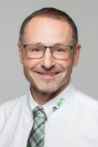 Jakob Huber, Leiter Informatik der Aare Energie AG