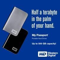 Ein halbes Terabyte im Pocketformat: Neue My Passport Modelle von Western Digital