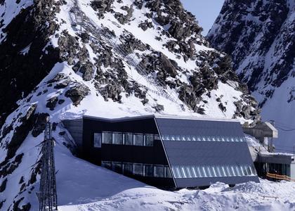 """PV installation at """"Matterhorn Glacier Paradise"""""""