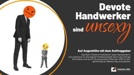 Das neue Buch von Andreas Scheibe ist ein Gamechanger für alle Handwerker, die sich im Projektgeschäft verarscht fühlen.