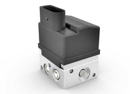 Das Ein-Kanal-ABS ist an unterschiedliche Motorrad- und Motorrollermodelle einfach anzupassen