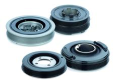 The ContiTech Power Transmission Group now also offers torsional vibration dampers and torsional vibration damper isolators for the automotive spare parts market / Photo: ContiTech