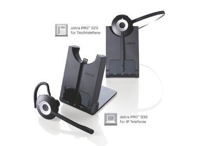 Jabra präsentiert schnurlose Einstiegs-Headsets für Festnetz + PC