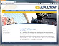 Neuer Internetauftritt von Video Simon mit zahlreichen Beispiel-Videos zeigt Angebot des Film- und Medienunternehmens aus Rhein-Main. Die Umsetzung der Internetseite mit Joomla CMS erfolgte durch die Internetagentur formativ.net aus Frankfurt