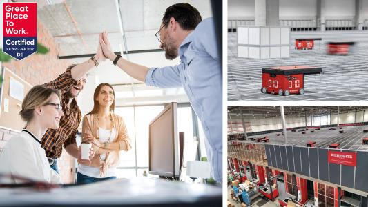 "Collage: Element Logic zertifiziert als ""Great Place to Work"""