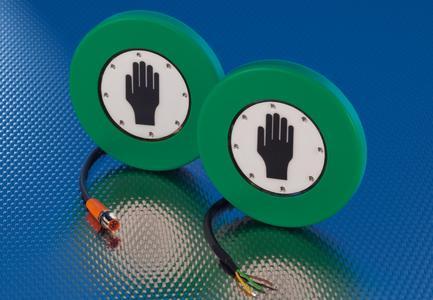 Kapazitive Handsensoren für die Aufwand-Montage