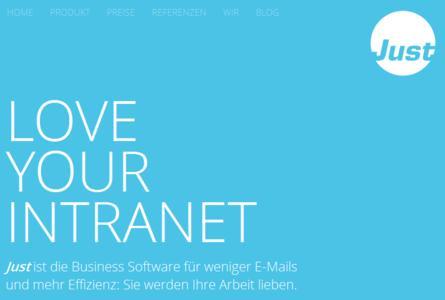 just website blau