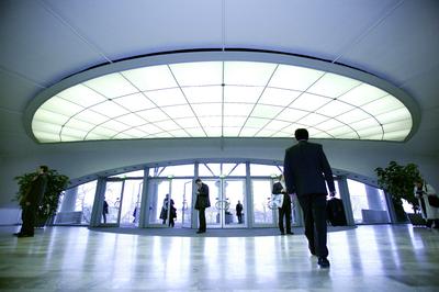 Das Messegelände in Hannover präsentiert mit perfekter Infrastruktur und modernster Technik auf einer Gesamtfläche von 1 000 000 Quadratmetern den größten Messeplatz weltweit