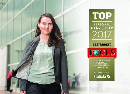 FranzWach ist Top-Personaldienstleister 2017