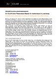[PDF] Pressemitteilung: 3U SOLAR liefert Photovoltaik-Module für Krankenhaus in Luxemburg