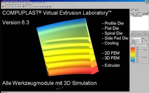 VEL Version 6.3 - Simulation Extrusion