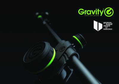 Gravity für den German Brand Award 2017 nominiert