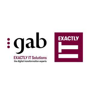 GAB ExactlyIT Solutions Logo