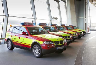 Münchner Notärzte fahren künftig BMW X3