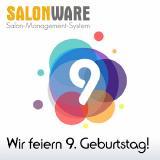 Die Friseursoftware SALONWARE feiert in diesem Jahr ihren neunten Geburtstag.