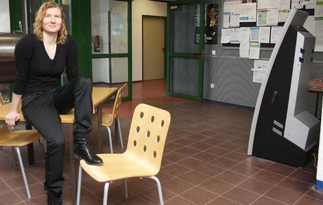 Milena Reichel freut sich auf ihre Studierenden. Foto: Gatermann