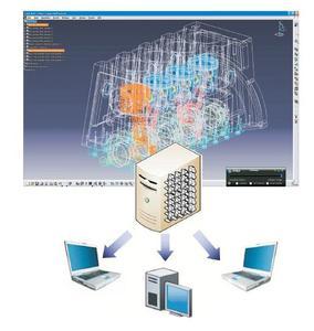 Virtualisierte CAD-Arbeitsplätze: hohe Reaktionsschnelligkeit, hohe Flexibilität, hohe Sicherheitsstandards