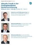 IVFP DKM Kongress Altersvorsorge: Aktuelle Trends in der Fondsgebundenen Rentenversicherung