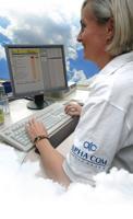ALPHA COM wird auf der CeBIT 2012 zeigen, dass auch Sachbearbeitung in der Wolke funktioniert (Foto: Corinna Scholz)