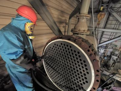 Kipp Umwelttechnik GmbH uses proven TubeMaster cleaning system from sister company mycon GmbH in the waste incineration sector